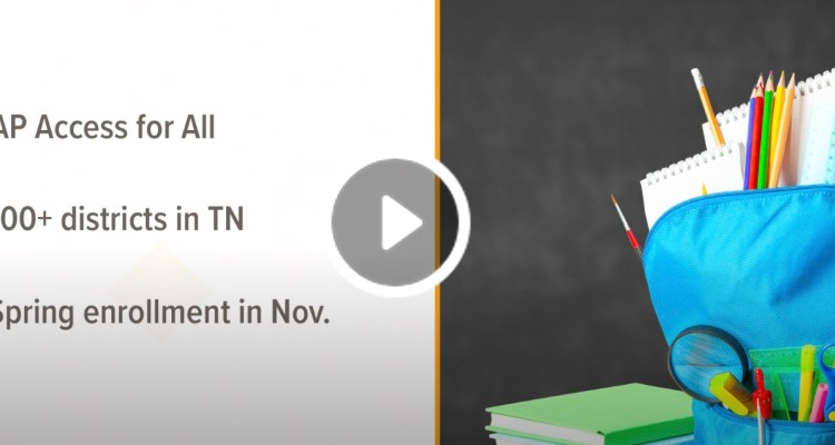 WATCH: Tennessee offers free high school advance placement courses online